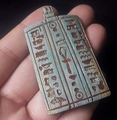Rare Ancient Egyptian talisman Amulet a New Kingdom (1549–1069BC