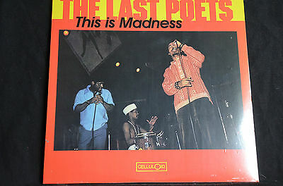 """The Last Poets This Is Madness 12"""" vinyl LP New + Sealed"""