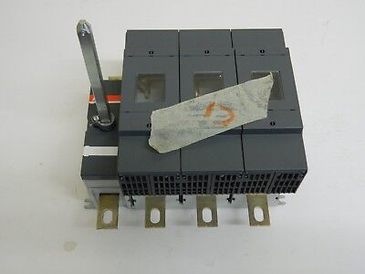ABB OS 400B03N3 3 Phase Fused + N, Switch Disconnector 400A