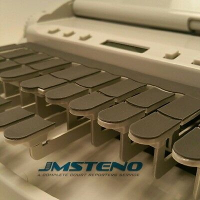 Steno Writer Thin Rubber Keytop Cover