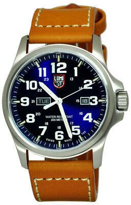 fdd49ea58d8 Luminox Atacama Field Day Date 1920 Series Men s Leather Watch XL.1924