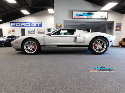 2005 Ford Ford GT Base Coupe 2-Door 2005 Ford GT, RARE QUICKSILVER STRIPE DELETE!!