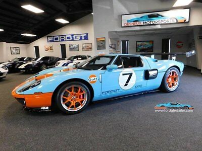 2006 Ford Ford GT Base Coupe 2-Door 2006 Ford GT, Heritage Edition ONLY 500 MILES!