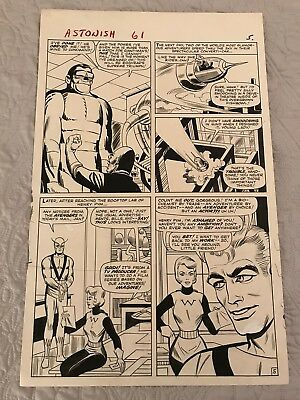 Tales to Astonish #61 Page 5 Steve Ditko Original Art Ant-Man + Wasp awesome