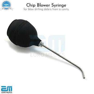 Chip Blowers Water Syringes With Rubber Bulb Dental Filling Instruments Tools CE