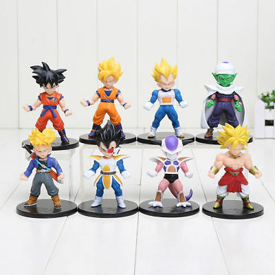 Dragon Ball Z Goku Trunks Vegeta Piccolo Super Saiyan PVC Figures Collectible