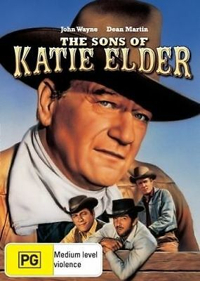 The Sons Of Katie Elder Dvd=John Wayne=Region 4 Australian Release=New & Sealed