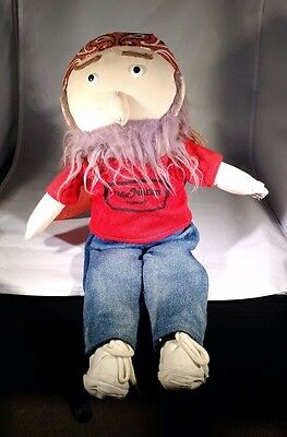 Willie Nelson & Family General Store Plush Doll