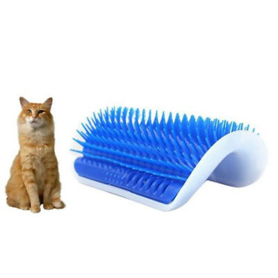 Pet Cat Self Groomer Brush Wall Corner Grooming Massager Comb Comfort Toy Latest