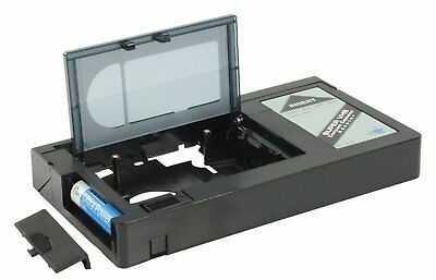 HQ VHS-C Video Cassette Adaptor Universal Ideal for VHS-C Camcorder Users Gift