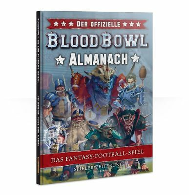 Der Offizielle Blood Bowl Almanach (Deutsch) Games Workshop Football Erweiterung