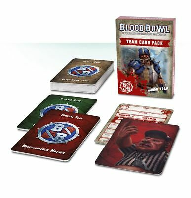 Blood Bowl - Human Team Card Pack (Deutsch) Games Workshop Football Menschen