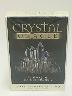 NEW Crystal Oracle Cards by Toni Carmine Salerno