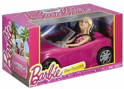 Mattle Barbie Glam Convertible Car With doll