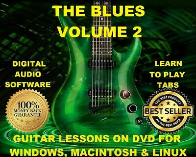 The Blues Volume Two 1835 Guitar Tabs Software Lesson CD & 518 Backing Tracks