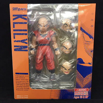 "S.H.Figuarts Dragon Ball Z KLILYN 5"" PVC Action Figure New In Box"
