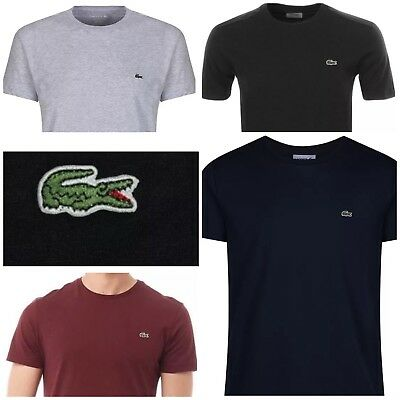Lacoste Short Sleeve Crew Neck T-Shirt For Men