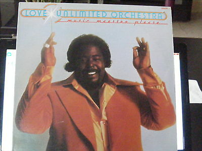 Love Unlimited Orchestra  (1975) Vinyl LP Record 33 rpm