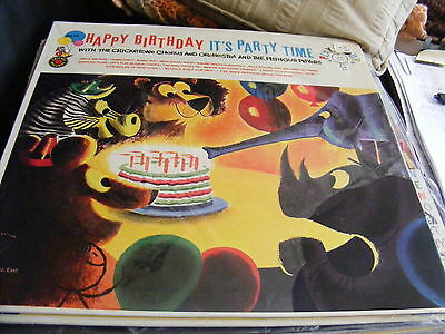 Happy Birthday It`s Party Time  (1959) Vinyl LP Record 33 rpm