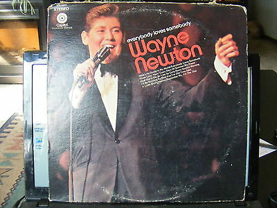 Wayne Newton Everybody Loves Somebody  (1969) Vinyl LP  33 rpm