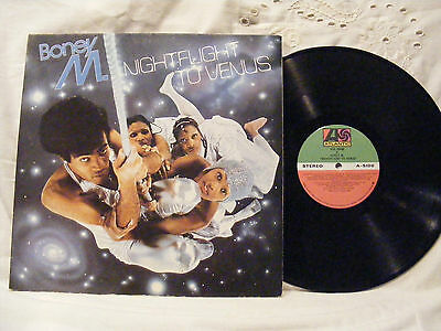 Boney M * Nightflight To Venus (1978) Vinyl  LP Record 33 rpm