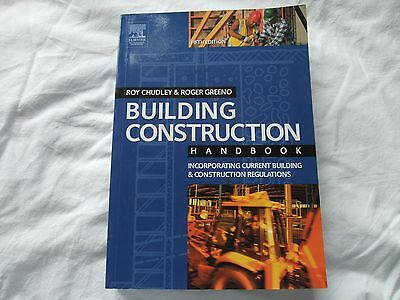 0-7506-6196-8 Building Construction Handbook, By Roy Chudley & Roger Greeno
