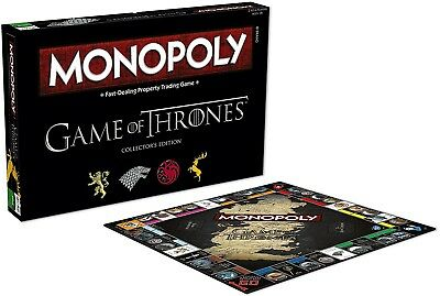 Game Of Thrones Monopoly Board Game Fun Group Family Games Brand New Sealed