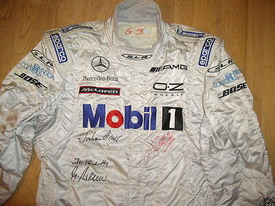 Mercedes Benz Mclaren SLR AMG Rennoverall Race Suit Sparco Gr. 58 Racing Overall