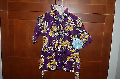 BATH ROBE Terry Coverup Size S (3T) Child GIRL FRIENDS NWT