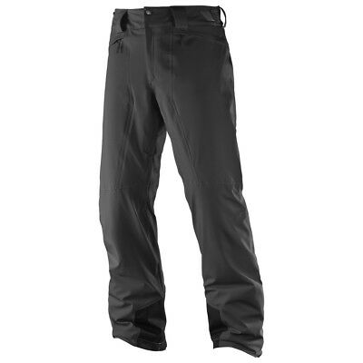 Salomon Men's Icemania Ski Pant (Reg Leg) - Black