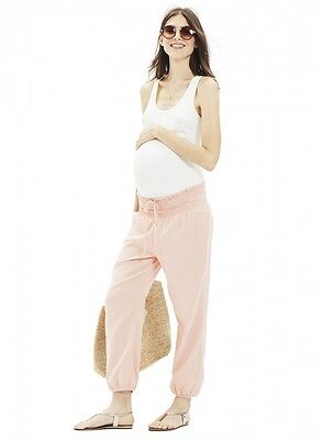 NWT The Hatch Collection Maternity The Pant Size 1 Pink Rose, Comfy Soft Cozy!!