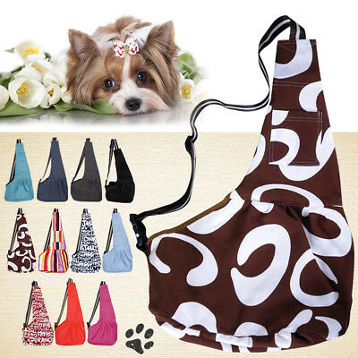 Strap Sling Single Shoulder Carrier Oxford Bag Carry Pouch for Pet Dog Cat Puppy