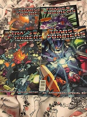 Transformers Comics the animated movie Issues 1-4 2006