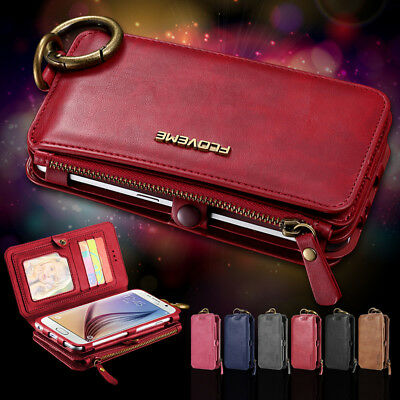 Luxury Pu Leather Wallet Cover Flip Phone Case Iphone Samsung Womens Mens Purse