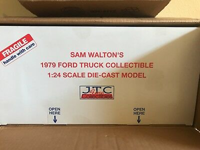 1979 Ford F150 Sam Walton's Pick-up with Accessories & Display Case 1/24
