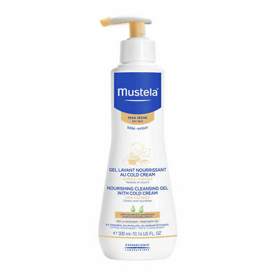 Mustela Nourishing Cleansing Gel With Cold Cream 10.14 oz Brand New
