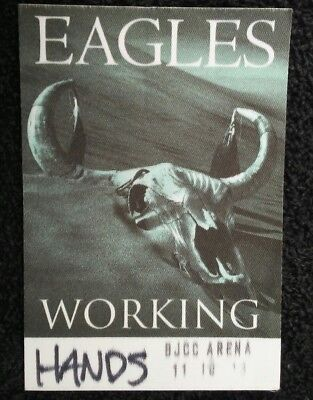 Eagles Unpeeled Tour Backstage Pass!