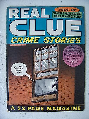 REAL CLUE CRIME STORIES Vol.3 #5 FINE/F+