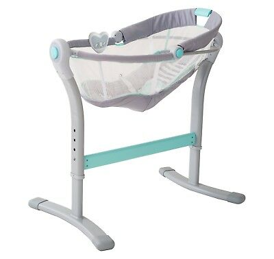 Swaddleme By Your Bed Sleeper Bedside Bassinet incline reduces newborn reflux