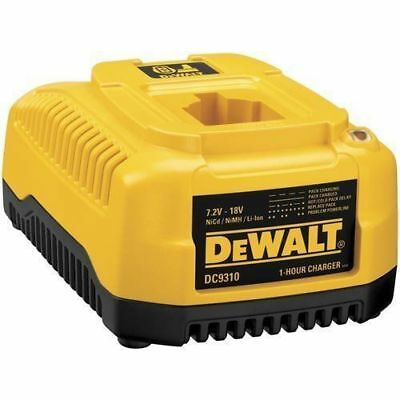 NEW DEWALT DC9310 7.2 Volt 18 Volt Fast Charger Used and Quality Guaranteed