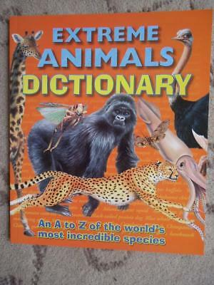Children's Extreme Animals Dictionary- A High Quality  Dictionary -Brand New