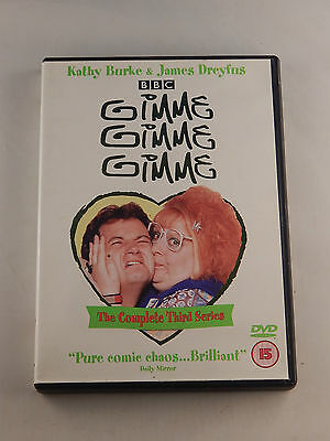 Gimme Gimme Gimme The Complete Third Series 1x dvd region 2 ISBN : 3259190299399