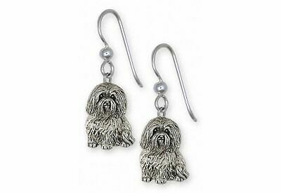 Havanese Earrings Jewelry Sterling Silver Handmade Dog Earrings HV43X-E