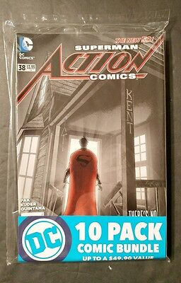 DC 10 Pack Comic Bundle (Up to 49.90 Value) Wow Brand New