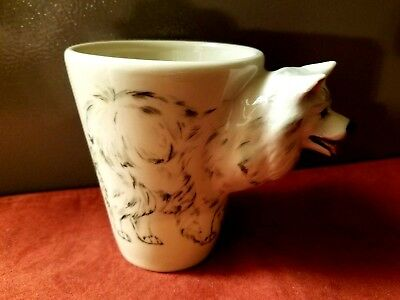 New! Samoyed by Blue Witch. 3 D Mug. Only 1 left!