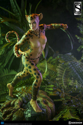 Cheetah Premium Format Figure STATUE Sideshow Collectibles