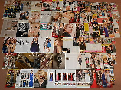 110+ KATE WINSLET Magazine Clippings