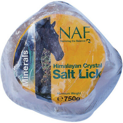 Naf Himalyan Rock Small Salt Unisex Stable And Yard Lick - Clear All Sizes