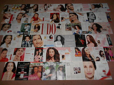 120+ ANDIE MACDOWELL Magazine Clippings