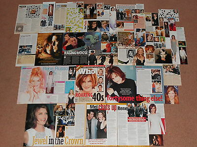 50+ RENE RUSSO Magazine Clippings